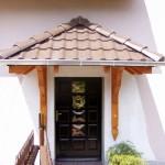 Daszki nad drzwi i tarasy